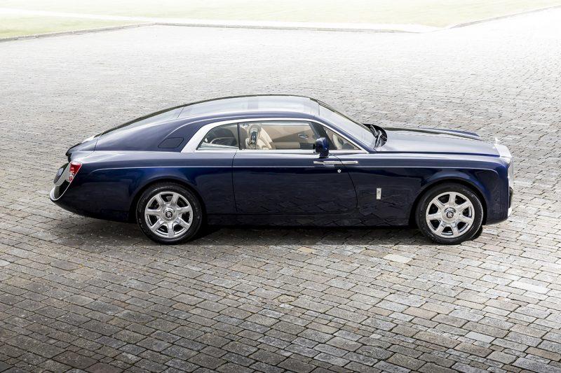 La voiture neuve la plus chère du monde : la Rolls Royce Sweptail
