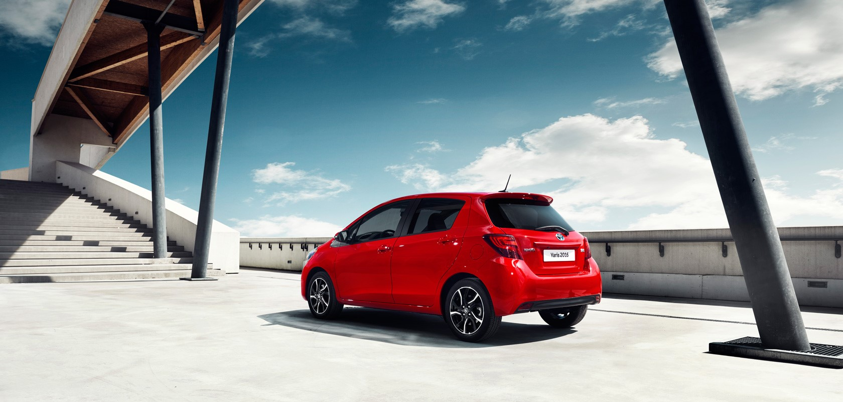 La plus française des voitures japonaises, la Toyota Yaris débarquent en Tunisie