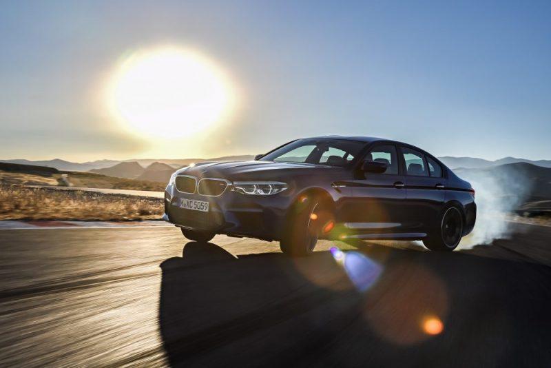Nouvelle BMW M5, un V8 de 600 ch et 4 roues motrices