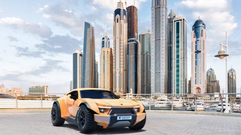 Zarooq SandRacer GT : le premier tout-terrain de luxe originaire du Moyen-Orient