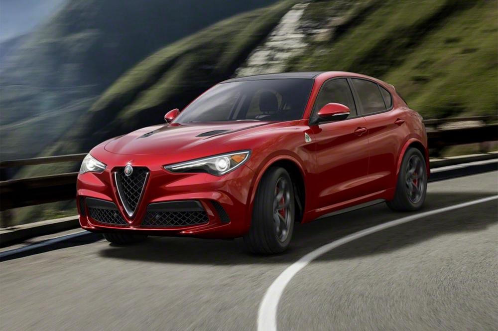 Le Stelvio Quadrifoglio d'Alfa Romeo  devient le SUV le plus rapide sur le Nürburgring